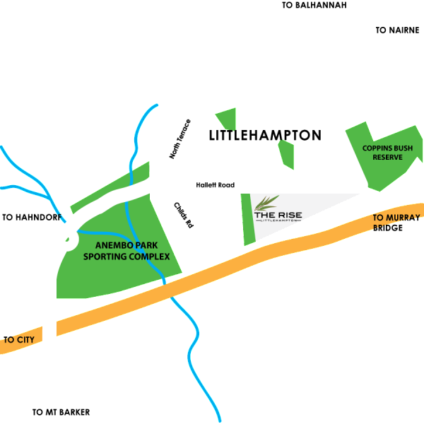 The Rise location Map