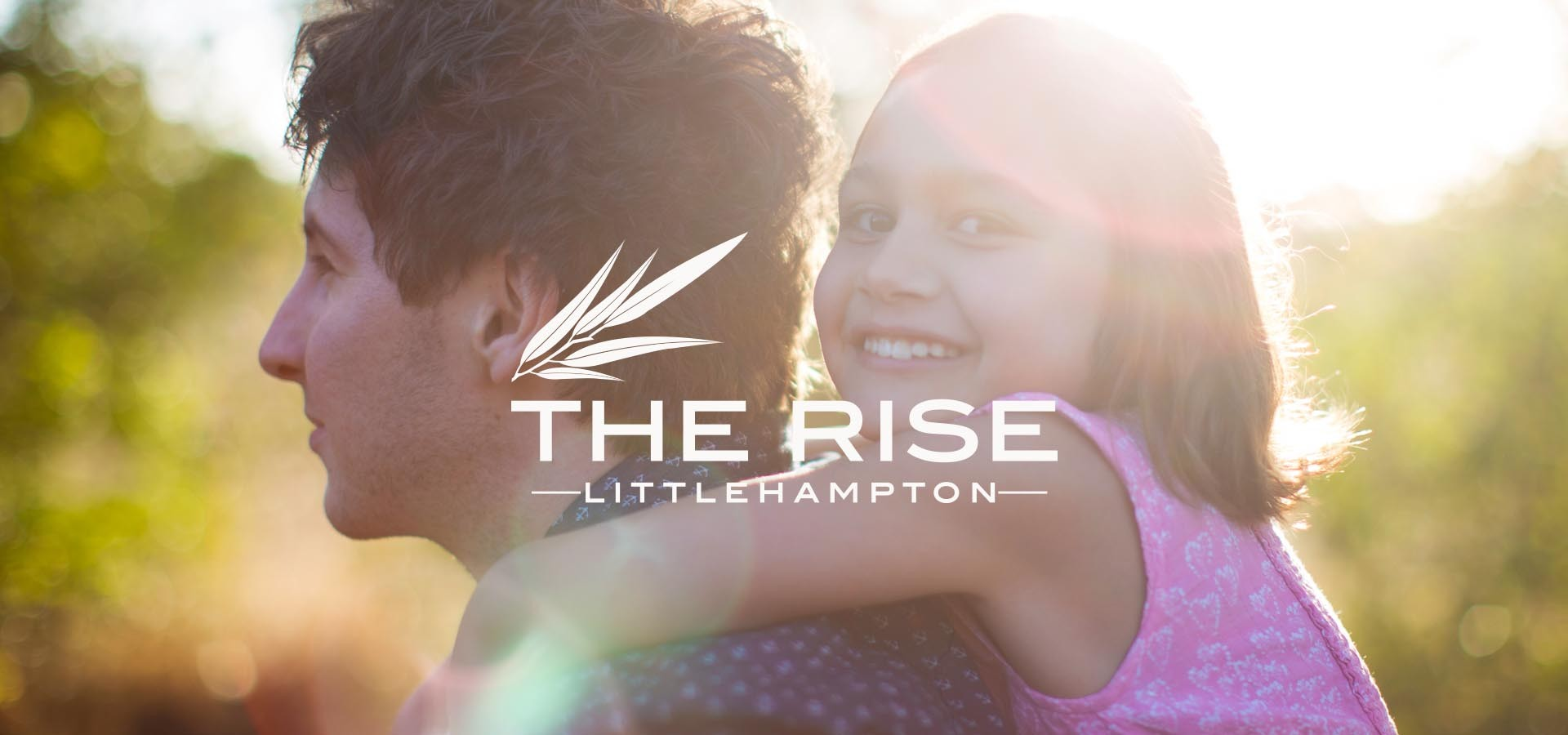 the rise littlehampton girl and guy slider with logo