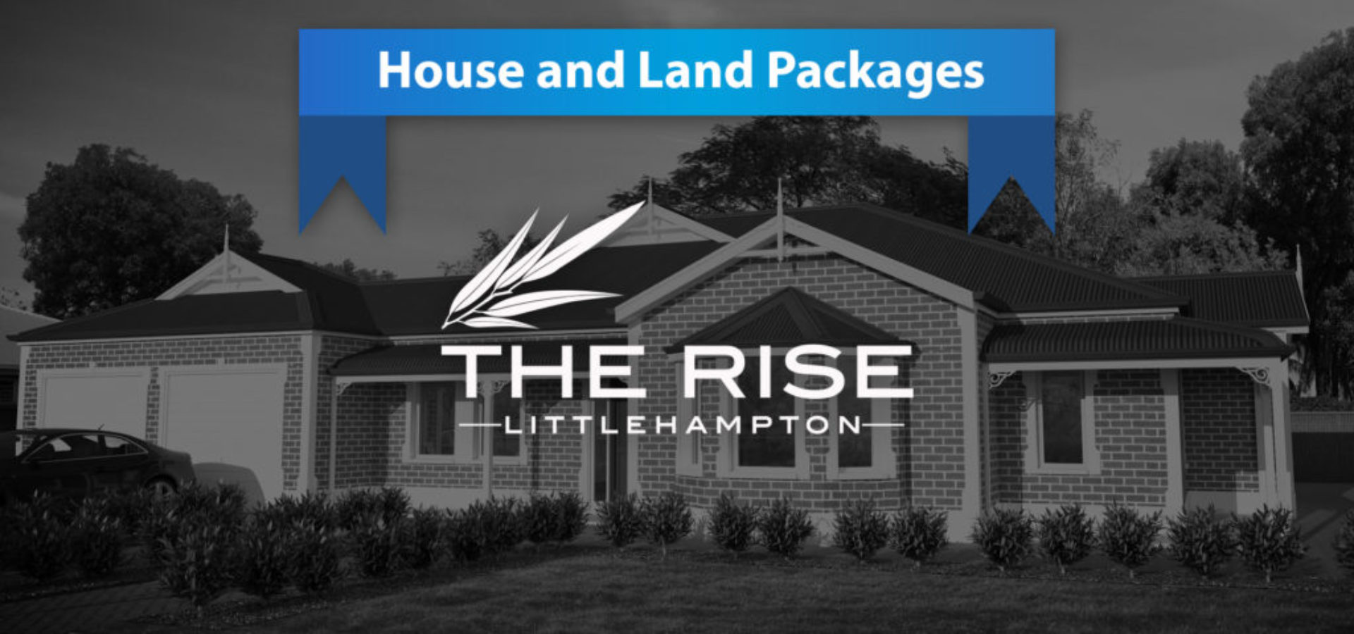 the rise littlehampton house land packages slider with logo