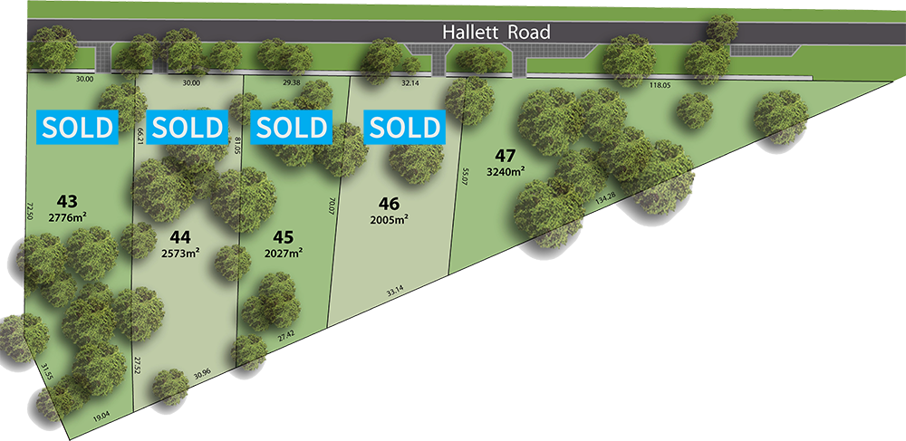 Lot 47 The rise littlehampton land division adelaide hills