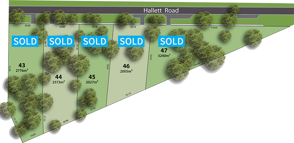 stage 1B hillside release all sold