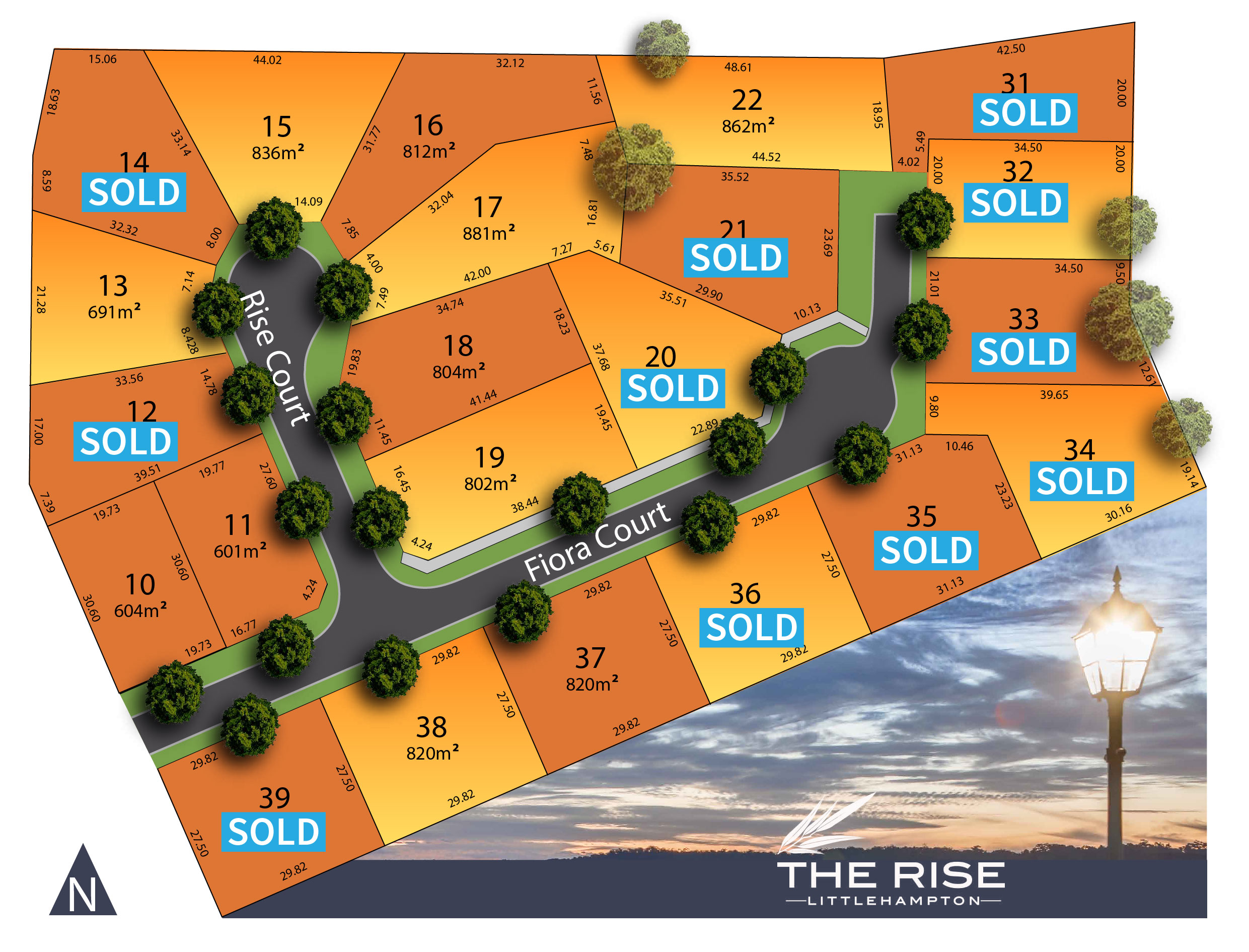 Hillside Release with available lots